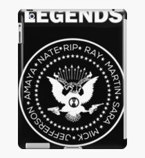 Legends meets Garage Rock iPad Case/Skin