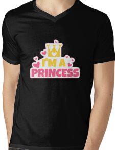 I'm a PRINCESS Mens V-Neck T-Shirt
