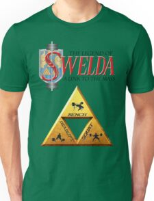 The Legend of Swelda: A Link to the Mass Unisex T-Shirt