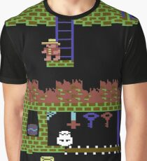 Montezumas Revenge Gameplay Graphic T-Shirt