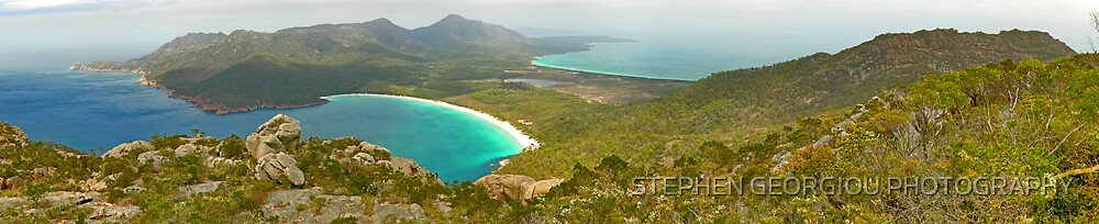 Turning Water into Wine Glass Bay by STEPHEN GEORGIOU PHOTOGRAPHY