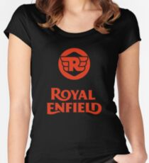 royal enfield Women's Fitted Scoop T-Shirt