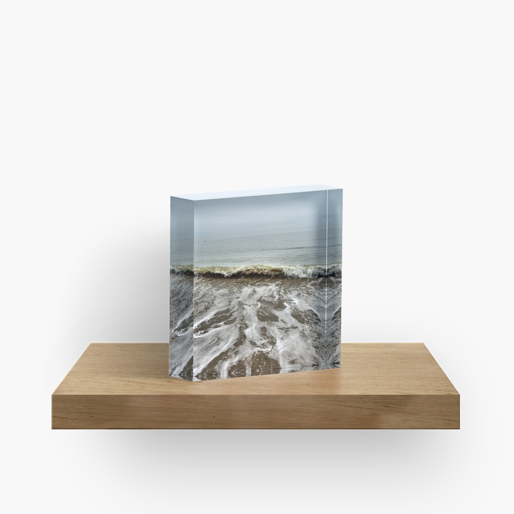 Rolling tides Acrylic Block