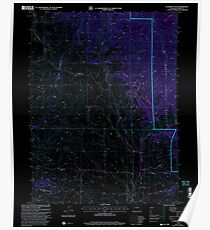 USGS TOPO Map Colorado CO Gunsight Pass 233191 2000 24000 Inverted Poster