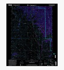 USGS TOPO Map Colorado CO Gunsight Pass 233191 2000 24000 Inverted Photographic Print