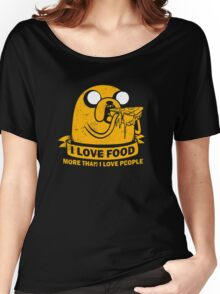 Food I love the Most funny Women's Relaxed Fit T-Shirt