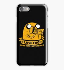 Food I love the Most funny iPhone Case/Skin