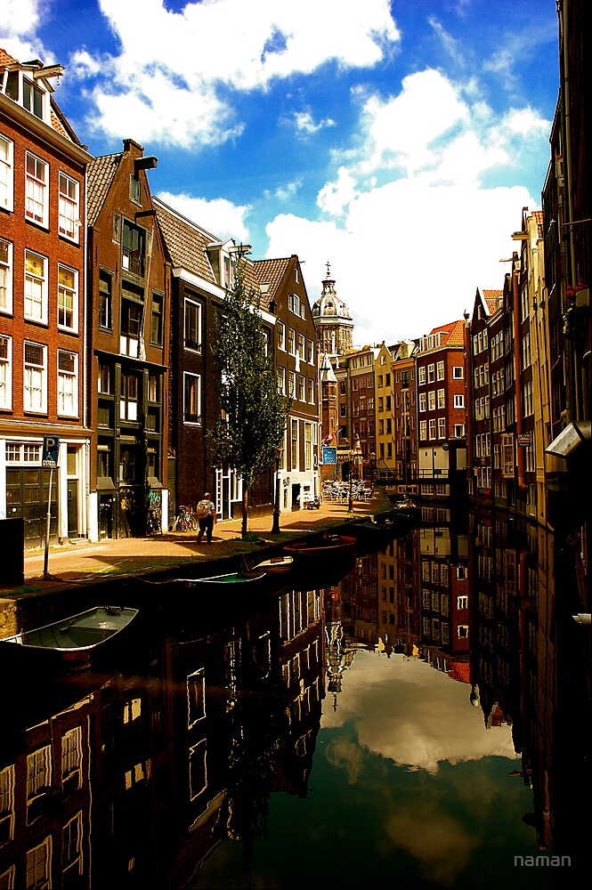 Amsterdam-Old & Dutch by naman