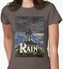 Zelda: Breath of the Wild - The Legend of Rain At Inconvenient Times (by original artist) Womens Fitted T-Shirt