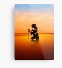 wonder Metal Print & Wonder Woman: Wall Art | Redbubble