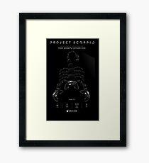 Xbox Project Scorpio Logo Framed Print