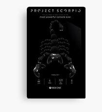 Xbox Project Scorpio Logo Canvas Print