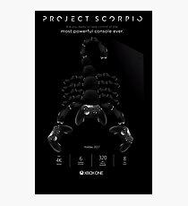 Xbox Project Scorpio Logo Photographic Print