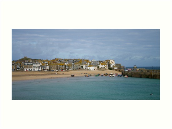 St Ives harbour. by Steve plowman