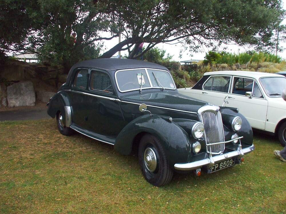 Classic Car by Roger Poole