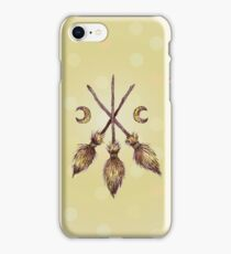 Three Broomsticks  iPhone Case/Skin