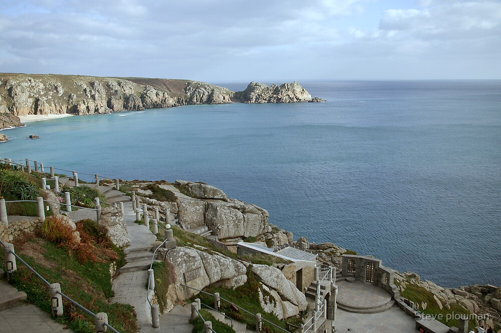 The Minack theatre by Steve plowman