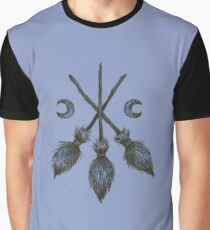 Three Broomsticks  Graphic T-Shirt