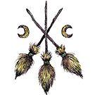 Three Broomsticks  by Brett Manning