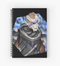 Vetra Nyx - Mass Effect Andromeda Spiral Notebook