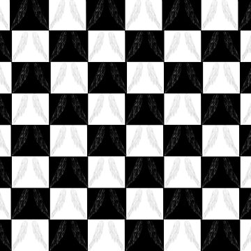 Winged Checkered Board by spidey8itch