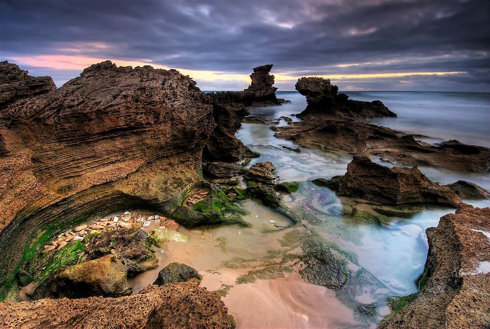 Craggy Coast Eve by Robert Mullner