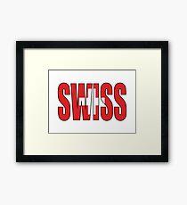 Swiss Framed Print