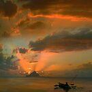 Fishing Sunset 2 by Igor Zenin