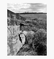 Fort Lytton Pill Box Photographic Print