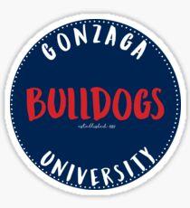 Gonzaga University Bulldogs Sticker