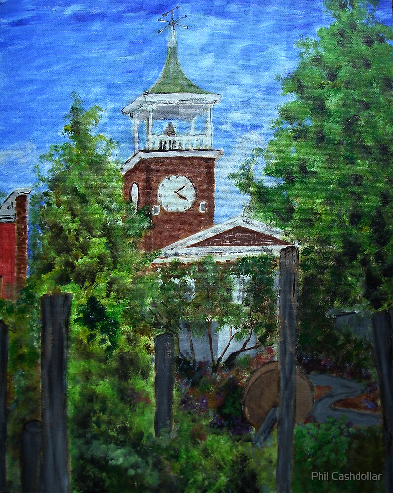 Georgetown Clock Tower by Phil Cashdollar