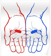 Red Pill or Blue Pill? The Matix Poster