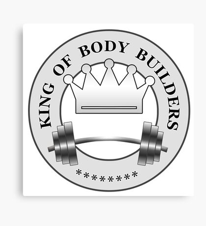 King of Body Builders Canvas Print