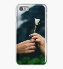 People holding a flower iPhone Case/Skin