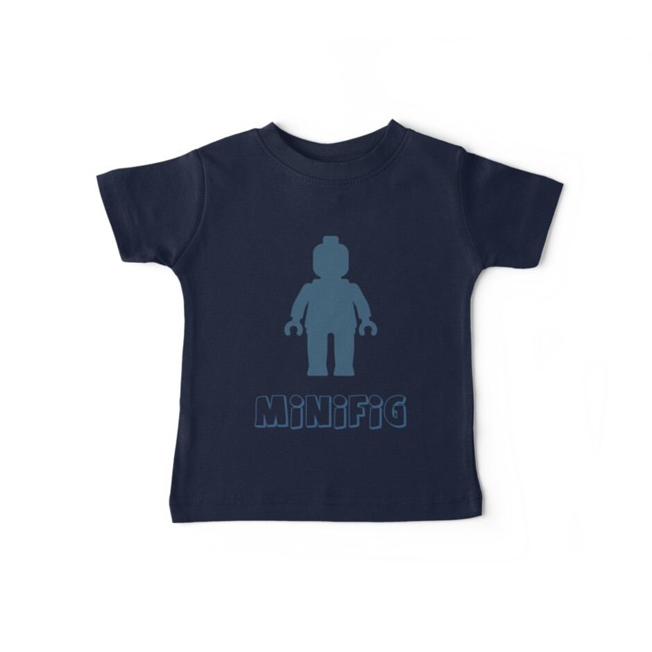 Minifig [Navy Blue] by Customize My Minifig