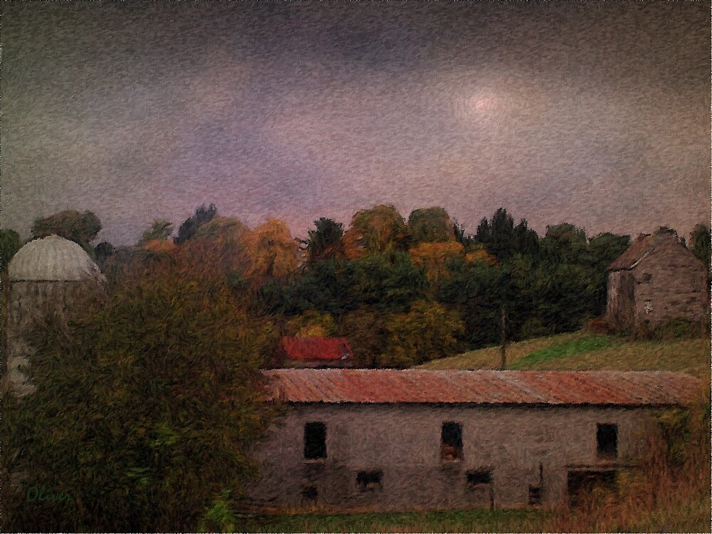 Autumn Evening by Charles Oliver