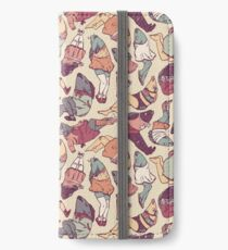 Peppy Springtime Legfish Pattern (Faded) iPhone Wallet/Case/Skin