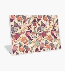 Peppy Springtime Legfish Pattern (Faded) Laptop Skin