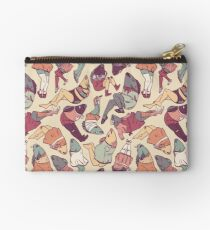 Peppy Springtime Legfish Pattern (Faded) Studio Pouch