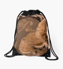 Rosy Romantic Reflection Drawstring Bag