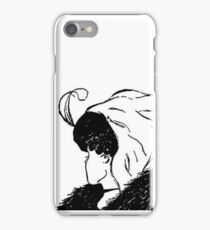 Old lady/Young girl illusion iPhone Case/Skin