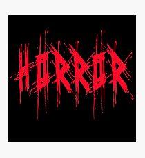 Horror Photographic Print