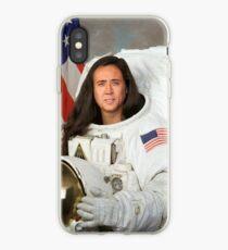 Nicolas Cage Astronaut iPhone Case