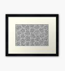 Reptile scales Framed Print