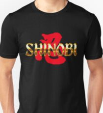 Shinobi - SEGA Genesis Title Screen Unisex T-Shirt