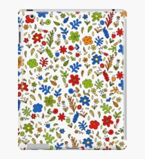 A nice combination of spring flowers iPad Case/Skin