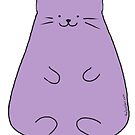 The Best Ber Purple Round Cat by thebestber