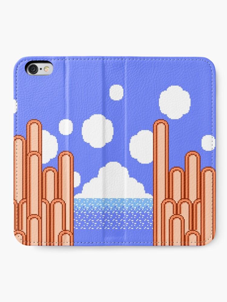 Alternative Ansicht von Kirbys Abenteuer - Ice Cream Island Horizon iPhone Flip-Case