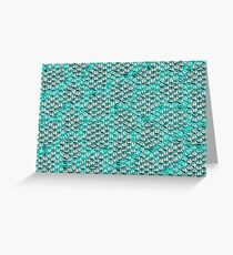 Reptile scales Greeting Card