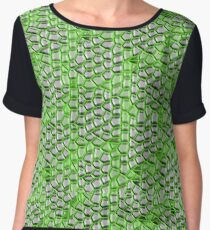 Reptile scales Women's Chiffon Top